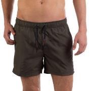 Panos Emporio Badbyxor Eros Swim Shorts Mörkgrön polyester Medium Herr