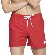 Frank Dandy Badbyxor Breeze Long Swimshorts Röd polyester Large Herr