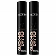 Redken Quick Dry Shaping Mist 18 Duo (2 x 400 ml)