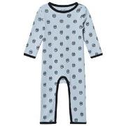 Petit by Sofie Schnoor Angry Bulldog One-Piece Blå 62 cm